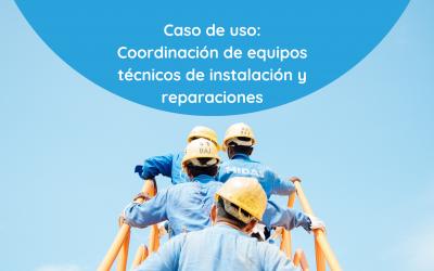 Twnel para coordinar equipos de instalación y reparaciones técnicas locativas en empresas de servicios públicos