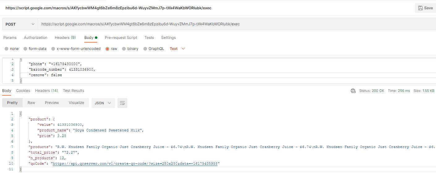Test API with postman