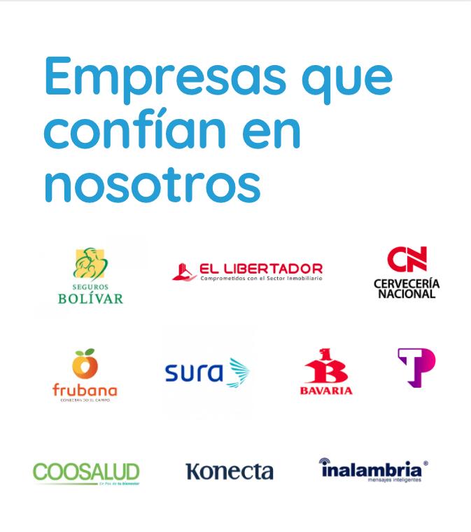 Empresas de la industria que confían en nosotros