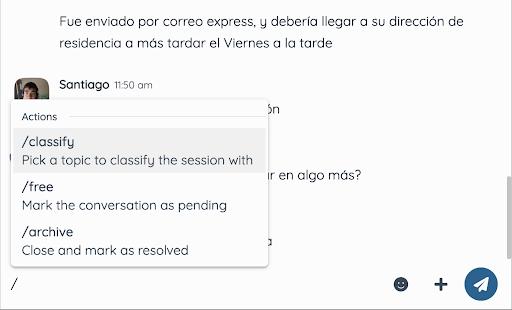 archivo de conversaciones en twnel