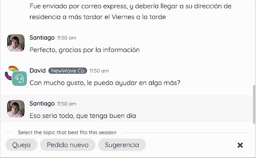 chat manager de Twnel