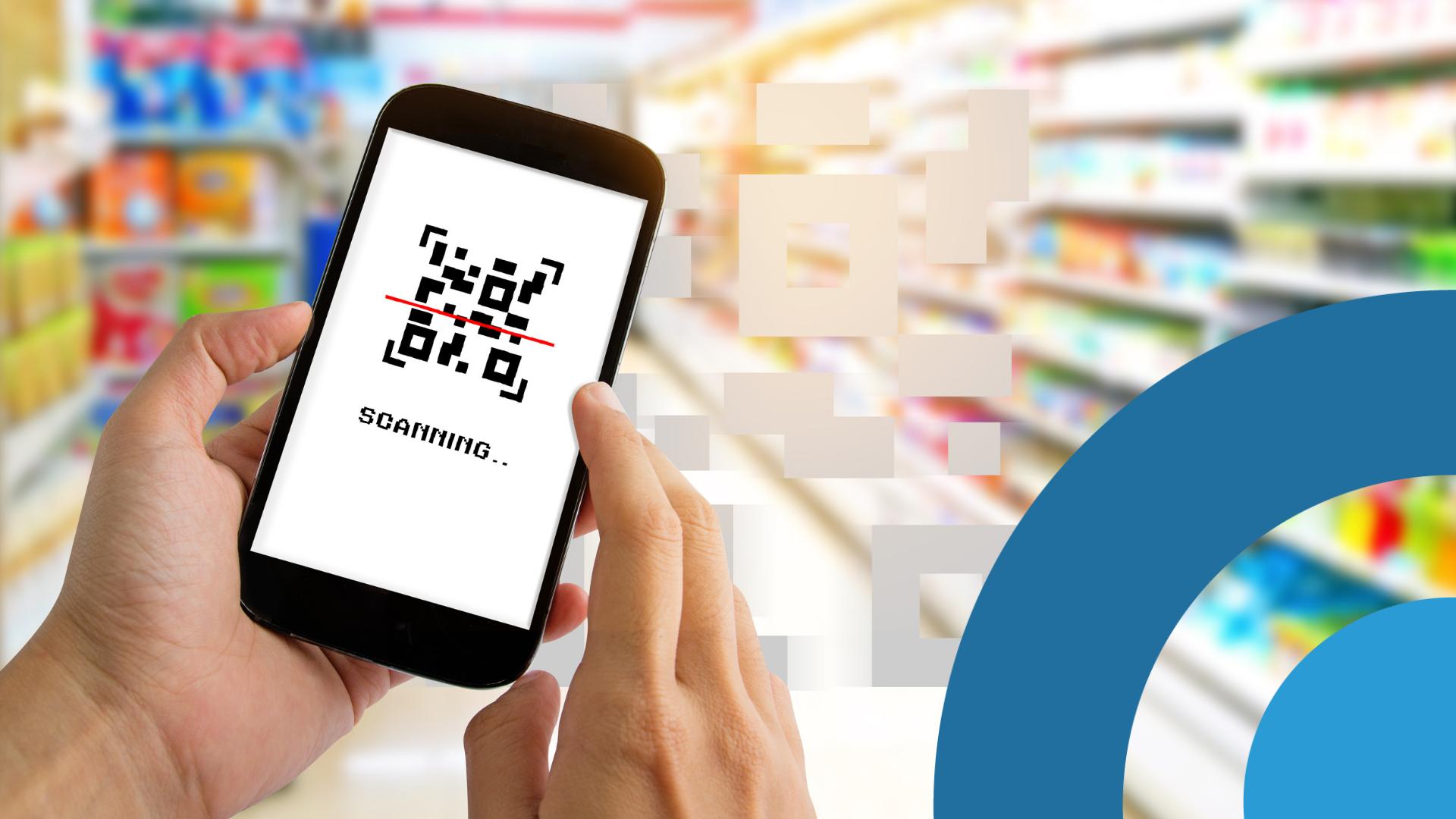 Escaneo de codigos QR para supermercados